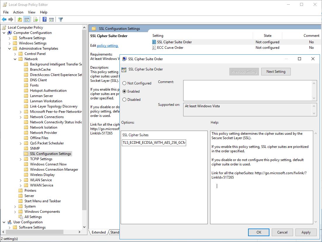 TLS fatal error code 20. The Windows SChannel error state is 960