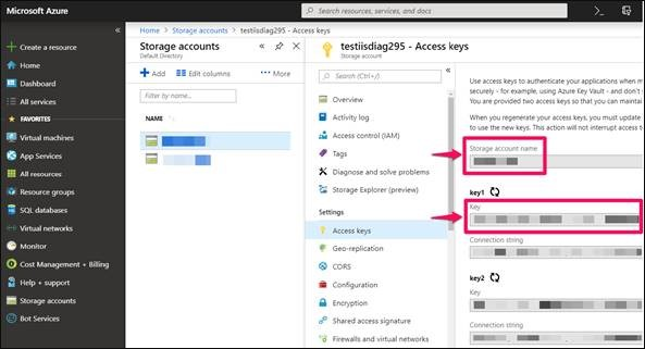 How to use Azure file share in IIS Shared Configuration?