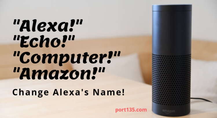 Change Alexa's Name