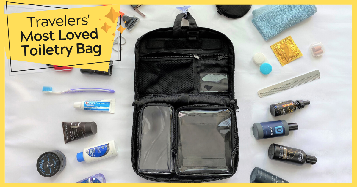 The Most Functional and Compact Toiletry Bag