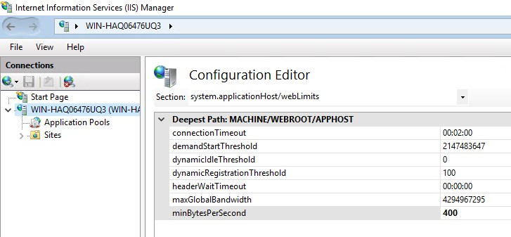 Slow HTTP POST vulnerability
