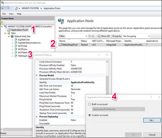 Run your .NET project on Local IIS without Administrator rights