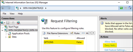 HTTP OPTIONS