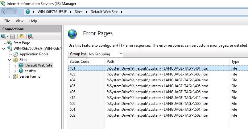 Custom Error Page for 401